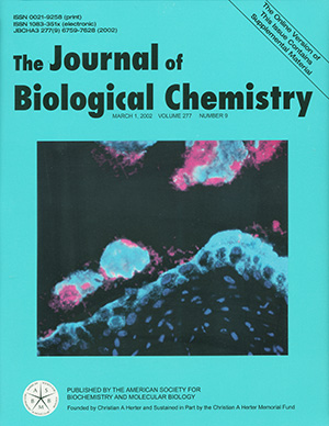 05 J Biol Chem. Journal Cover