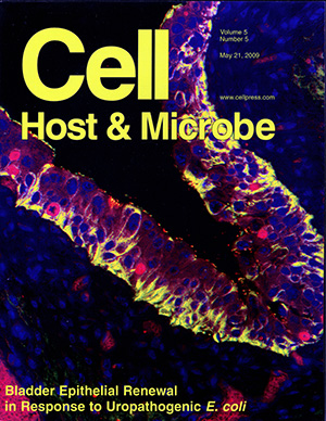 09 Cell Host Microbe Journal Cover