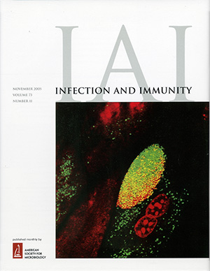 10 Infect Imun Journal Cover